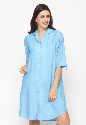 Impression blue Nightdress Calista 9101 8466BAA05C3813GS_1