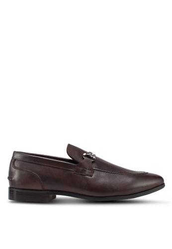 Carlton London brown Dress Shoes 01A14SHEE2E60DGS_1
