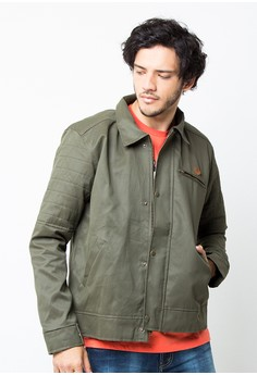Endorse Jacket Ltr Colton Mods Green END-PC011