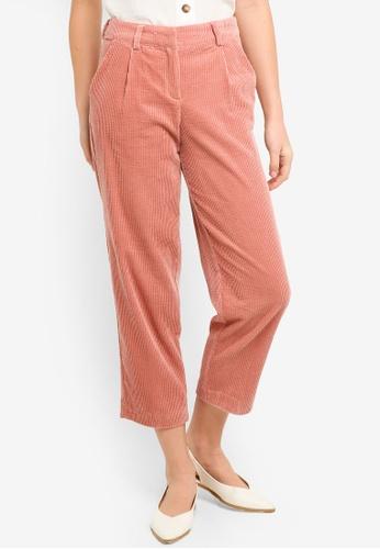 ICHI pink Derro Pants F8C3CAA645AD43GS_1
