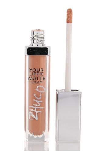 Zhuco Cosmetics beige Lippie Matte Cream 15 Waffle ZH711BE0S2HZMY_1