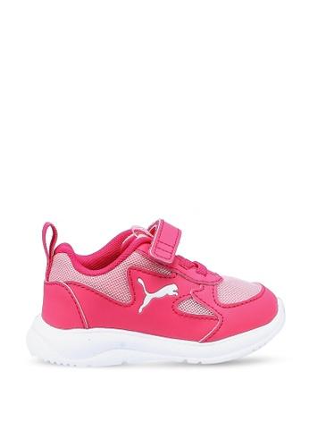 PUMA pink Fun Racer Trainers B46CEKS7ADDB29GS_1