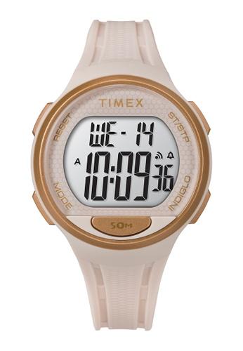 Timex pink Timex DGTL™ 40mm Unisex Resin Strap Watch - Pink (TW5M42300) 2ABB0AC513C5D1GS_1