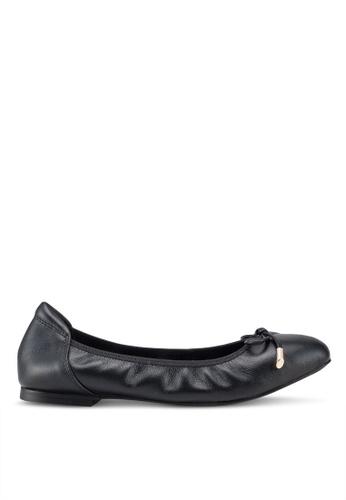 prettyFIT black Ribbon Ballerina Flats 9165FSHB138C69GS_1