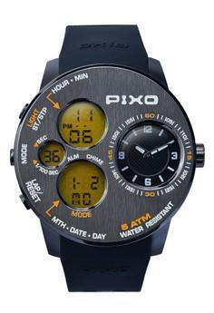 Time Panel Watch PX-5JSUBK-21