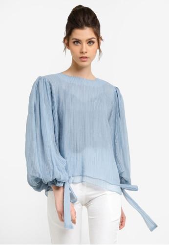 KREE blue Cora Top KR967AA0RZ5WMY_1