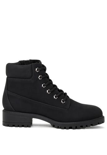 London Rag black Abigail Ankle Boots SH1674 E17AFSH1CA3D08GS_1