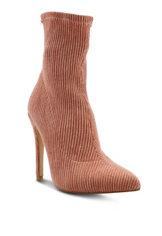 c8ffec916d59 63% OFF Public Desire Maxi Sock Fit Stretch Ankle Boots S$ 78.90 NOW S$  28.90 Available in several sizes