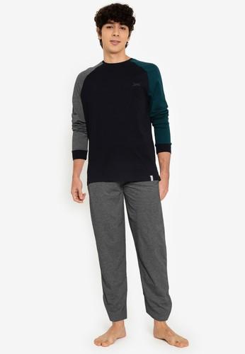 Springfield grey Multi-Color Pyjamas 61588AA77C928AGS_1