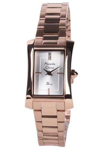 Alexandre Christie gold Alexandre Christie - Jam Tangan Wanita - Rosegold - Stainless Steel Bracelet - 2905LHBRGSL EC6D2ACE0F7DEAGS_1