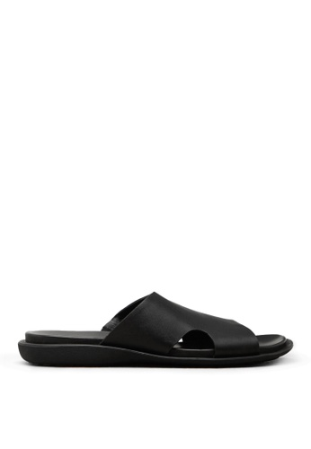 Kenneth Cole New York black SAND-Y BEACH - Slide Sandal. 73B62SH72CBD4EGS_1