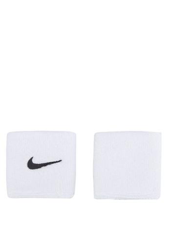 Nike white Nike Swoosh Wristbands NI126AC72FYDMY_1