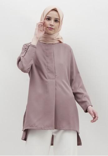 LISH purple Kana Blouse - Orchid 75061AAE4A8BB5GS_1