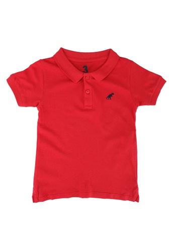Cotton On Kids red Kendricks Polo Shirt EDA19KA44D9321GS_1
