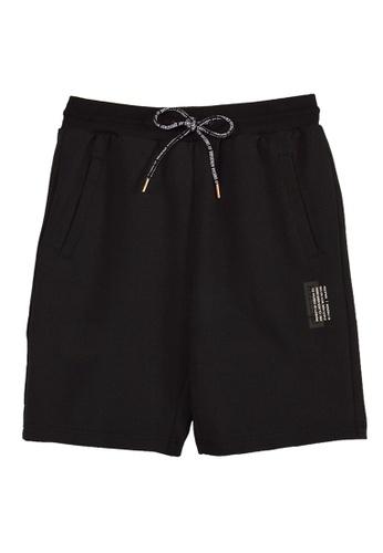 Cheetah black Cheetah Joggers Shorts CA-23046 FDE60AA48BBBF1GS_1