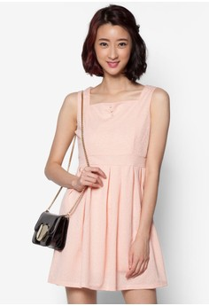 Dress with Pearl Detail