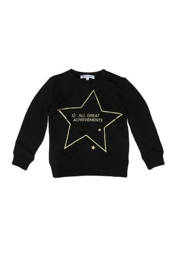GLOBAL WORK black Casual Sweatshirt 2D4C0KA1DA35A7GS_1
