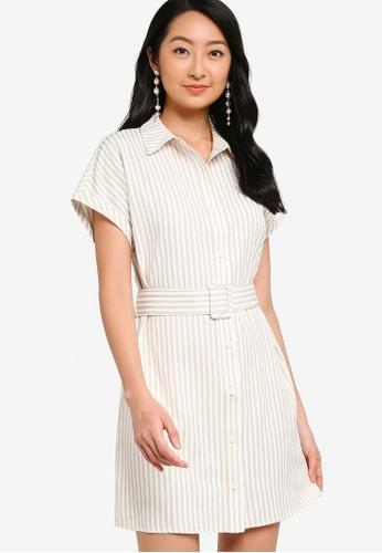 ZALORA BASICS multi Dolman Sleeve Shirt Dress 077DEAA6090A9DGS_1