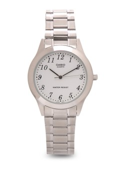 Analog Watch MTP-1128A-7BRDF-SILVER