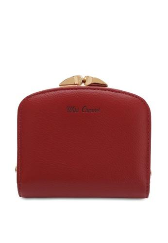 Wild Channel red Women's Bi Fold Wallet 4C6A6ACD4D20FFGS_1