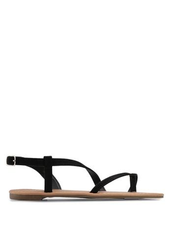 Rubi black Everyday Annie Asymetric Sandals 0D84BSH8C1B19CGS_1