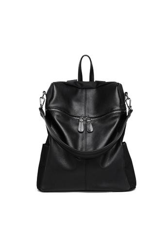 Seoul in Love black Joon Ki Two way Carry Backpack/Sling bag D7811AC713C8F4GS_1