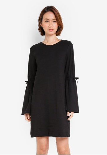 OVS black Knitted Dress 028F3AA011D2A9GS_1