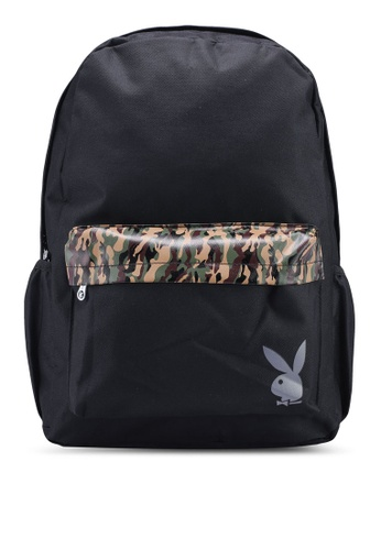 Playboy black Playboy Backpack AEBCBACCB930A7GS_1