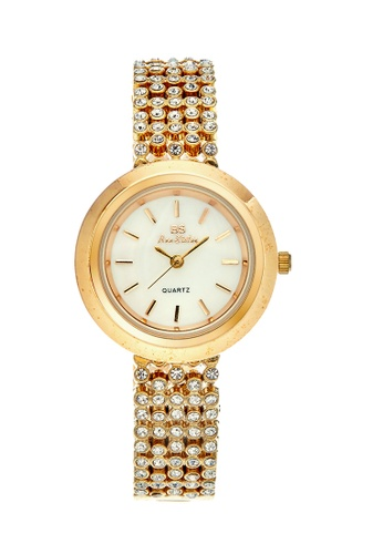 Bee Sister gold Japan Design Japan Movement Bee sister Pearl Watches B7B5CACCE60AF2GS_1