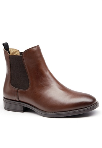Twenty Eight Shoes Cow Leather Chelsea Boot YM03025 99A9CSH947BF46GS_1