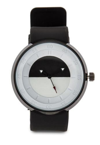 單色圓框手錶, 錶類,esprit outlet 家樂福 休閒型