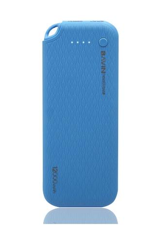 BAVIN blue Lightweight Portable 12000mAh Powerbank 47BACAC678026EGS_1