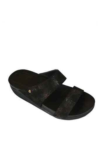 Ohrelle black Gayle Wedge Floppies 49E36SHB287D0EGS_1