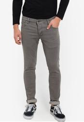 !Solid grey Dexter Stretch Skinny Jeans SO701AA52KDNMY_1