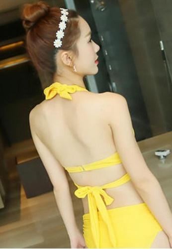 79fe473a16 Buy Halo (3pcs) 2 Way Yellow Bikini Set Online on ZALORA Singapore