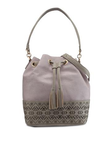 ELLE purple Dalia Shoulder Bag E8B58AC92AD1A9GS_1