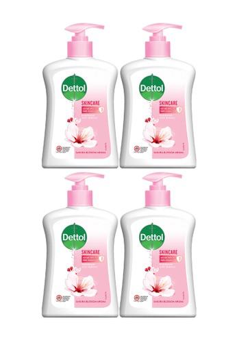 DETTOL Dettol Sabun Cuci Tangan Skincare 245ml x 4pcs Pump [PAKET HEMAT] 9B55DES5ACF178GS_1