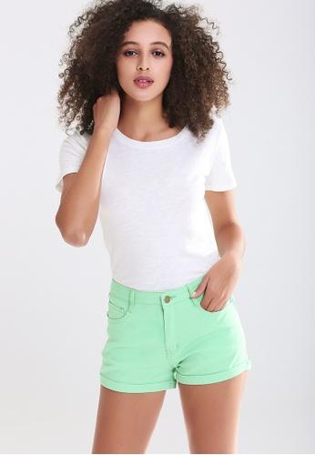 London Rag green Trendy Colorful Shorts F8D26AA9225521GS_1