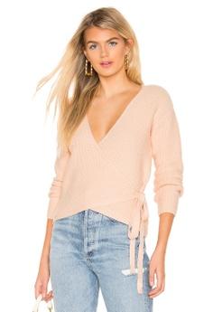 3a9788d3ed242 Tularosa pink Destiny Wrap Sweater(Revolve) 097C8AA5897AB1GS 1