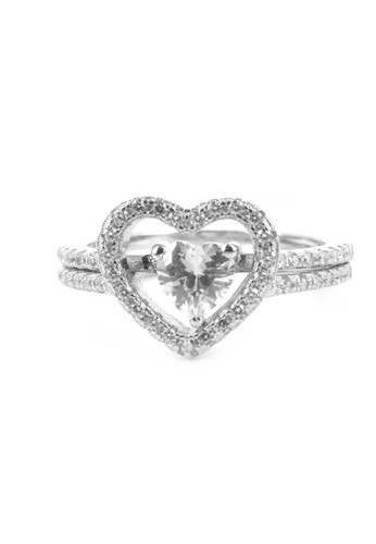 Jual DPARIS Dparis Ring Zircon Love Original