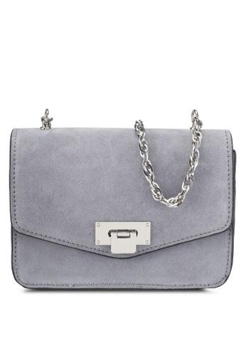 Mango purple Chain Leather Bag 0B1BFAC30E29A6GS_1