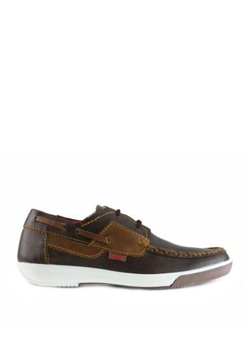Sogno brown Sepatu Sneaker Pria - GF.7017 2461ESH51BEC4EGS_1