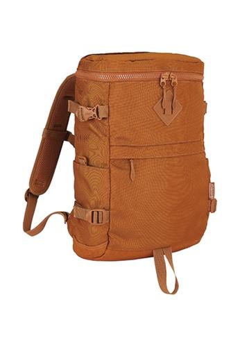 Coleman brown Atlas Quadra Travel Backpack 28DC5AC3F15EBEGS_1