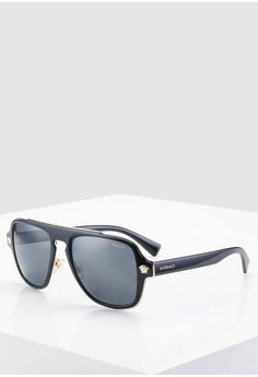 d6280f123809 Versace black Versace VE2199 Sunglasses 303FFGLC75D62DGS 1