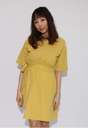 Seoul in Love yellow Cora Dress F5F55AA30D49B1GS_1