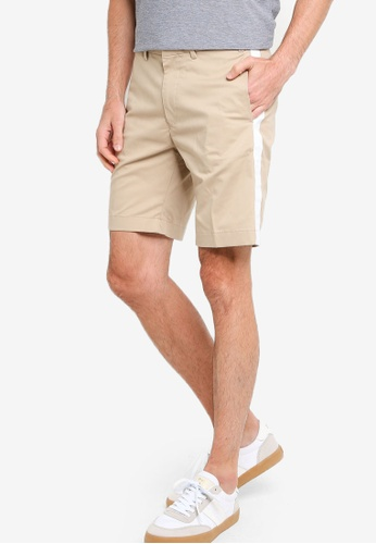 Tommy Hilfiger 米褐色 Panel Chino Shorts 99765AAE67E477GS_1