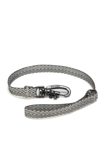 Pacsafe grey Pacsafe Cut Resistant Wallet Strap (Grey) 7236FACCEC0BD1GS_1