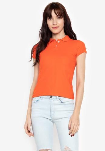 01ae7571 Shop Organic Honeycomb Polo Shirt Ladies Online on ZALORA Philippines