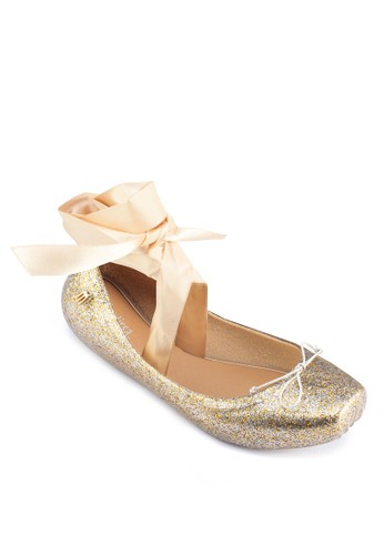 Ballet IV 芭蕾繫帶平esprit hk底鞋, 女鞋, 芭蕾平底鞋