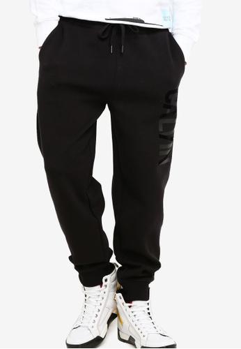 Calvin Klein 黑色 Calvin Logo Sweatpants - Calvin Klein Jeans B4CD9AA4CF469EGS_1